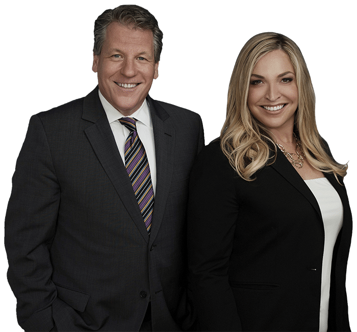 Attorney Sam Bomier and Attorney Rachel Fitzgerald
